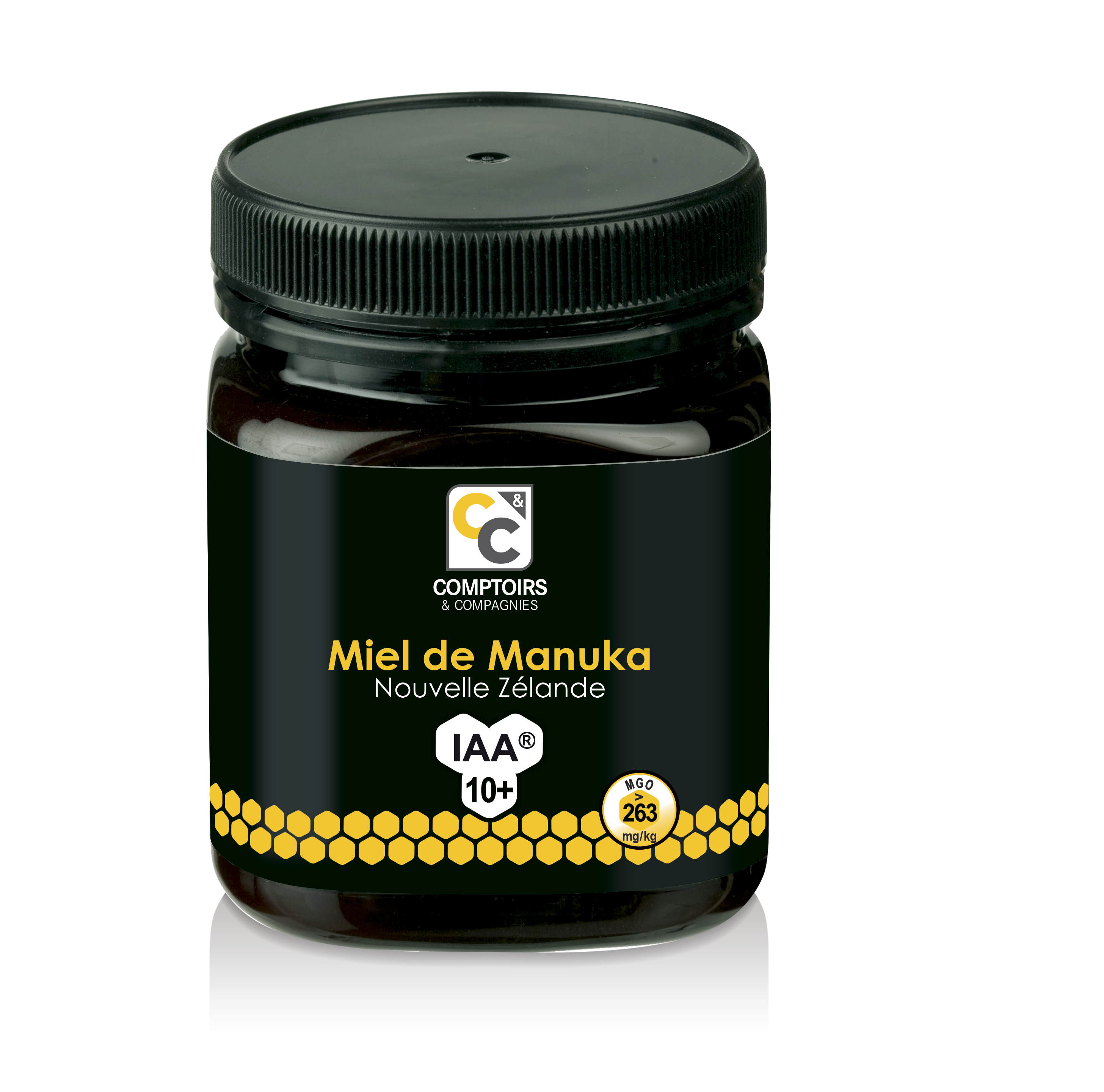 Miel de Manuka IAA10+ (pot de 250gr)