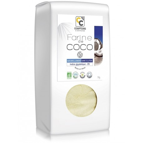 Farine de Coco BIO issue du commerce équitable
