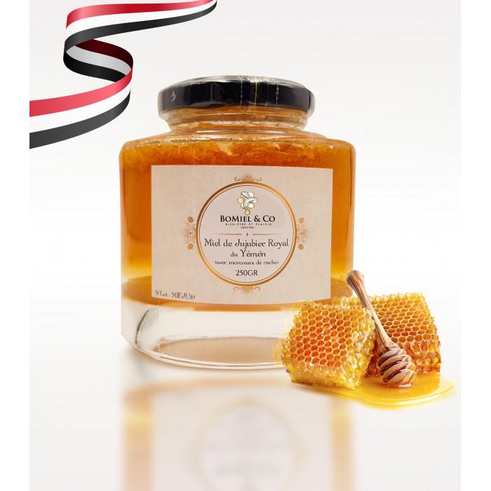 Royal Jujube Honey from Yemen WITH WAX