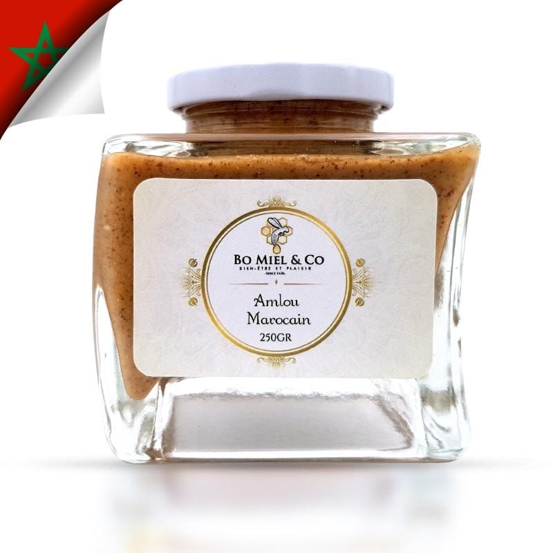 Handgemachte marokkanische Amlou