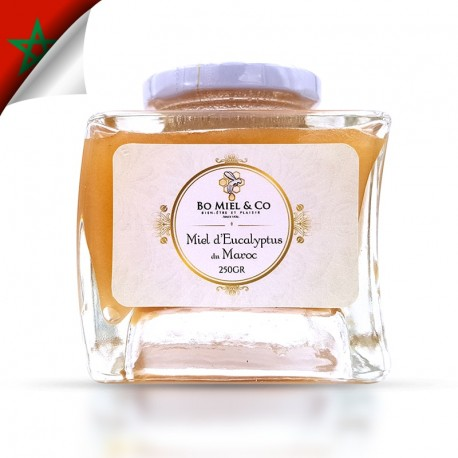 Miel d'eucalyptus (Analysé à 84% )
