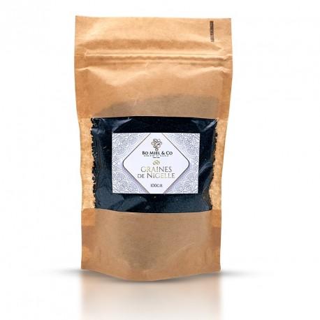 Graine de Nigelle Habachia (d'Ethiopie) Analysé et pure à 99.74%