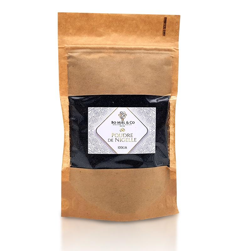 Poudre de Nigelle d'Éthiopie Moulues Certifiées Pures à 99%