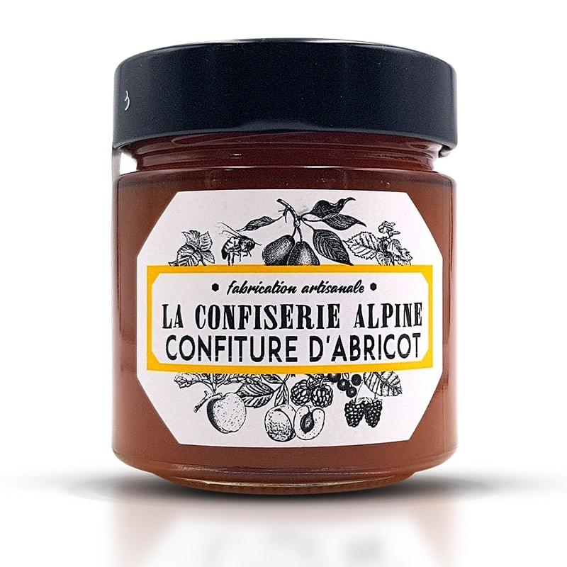 Confiture d'abricot au miel des Alpes