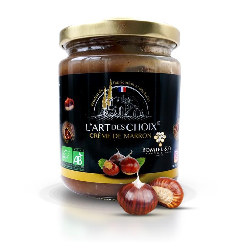 Crème de marron certifié AB