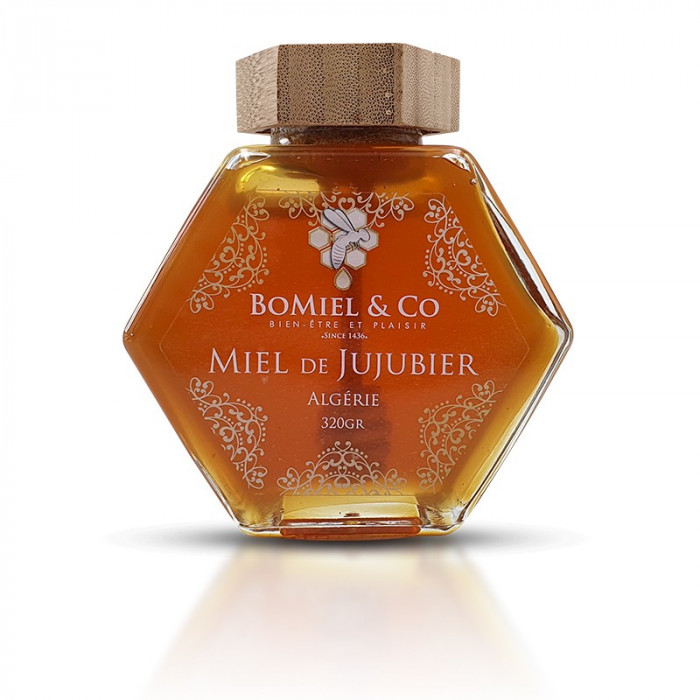 Miel de Jujubier (sidr) /d'Algérie - 320gr COLLECTOR (analysé à 97% en pollen de jujubier)