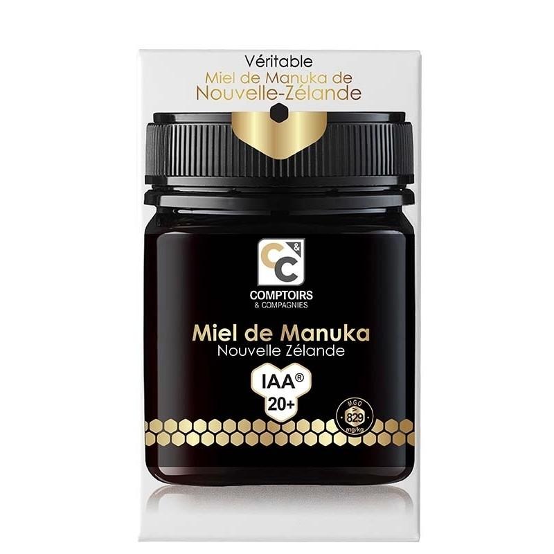 Miel de Manuka IAA20+ (nouveau)