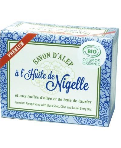 Savon d'Alep Premium BIO à huile de Nigelle