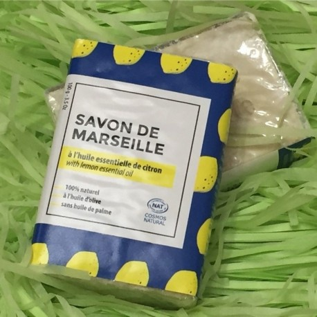 Savon de Marseille (à l'huile essentielle de citron)