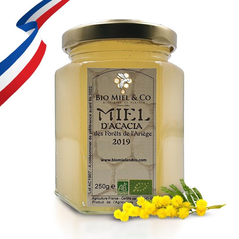 MIEL D'ACACIA certifié AB BIO de France (Pyrénées)