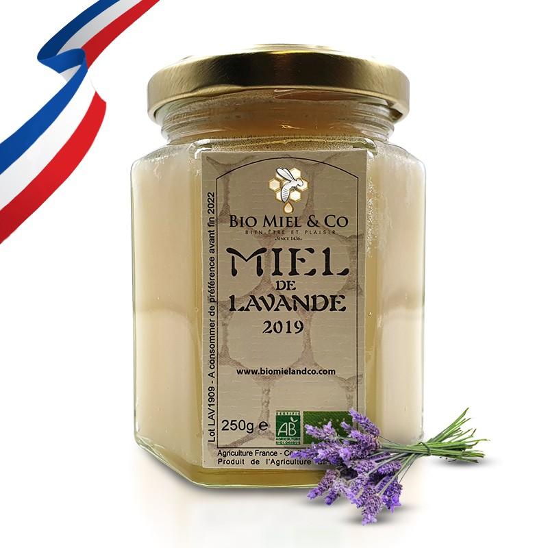 MIEL DE LAVANDE certifié AB BIO de France (Alpes de Haute Provence)