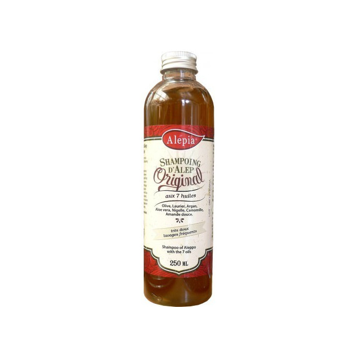 Aleppo shampoo with 7 oils