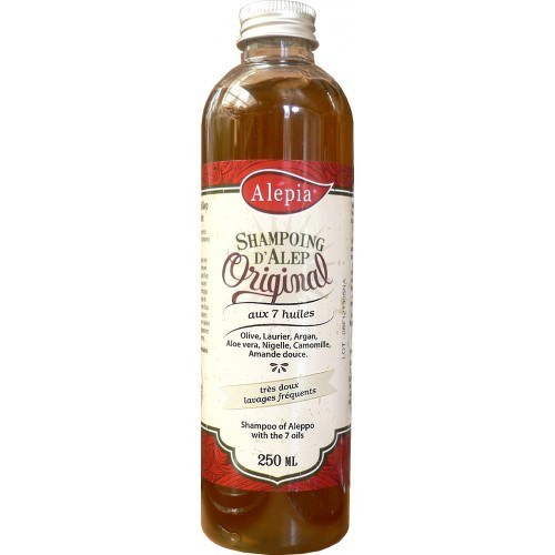 Aleppo shampoo with 7 oils