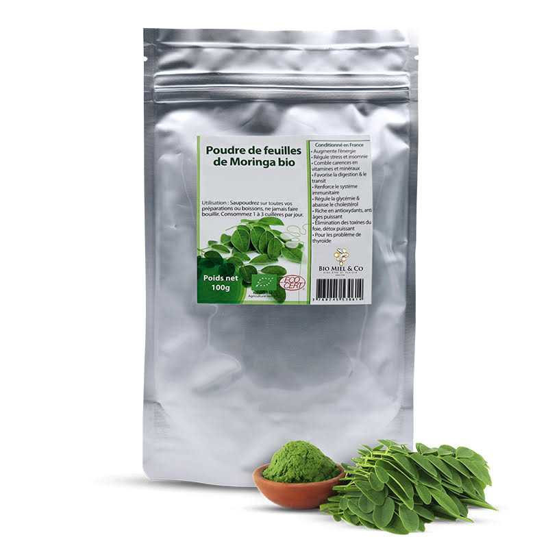 Organisches Moringablattpulver
