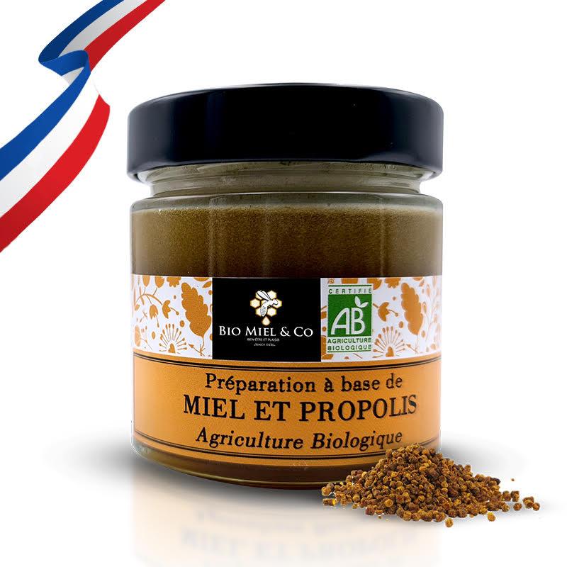 Miel et Propolis (2.5%) BIO