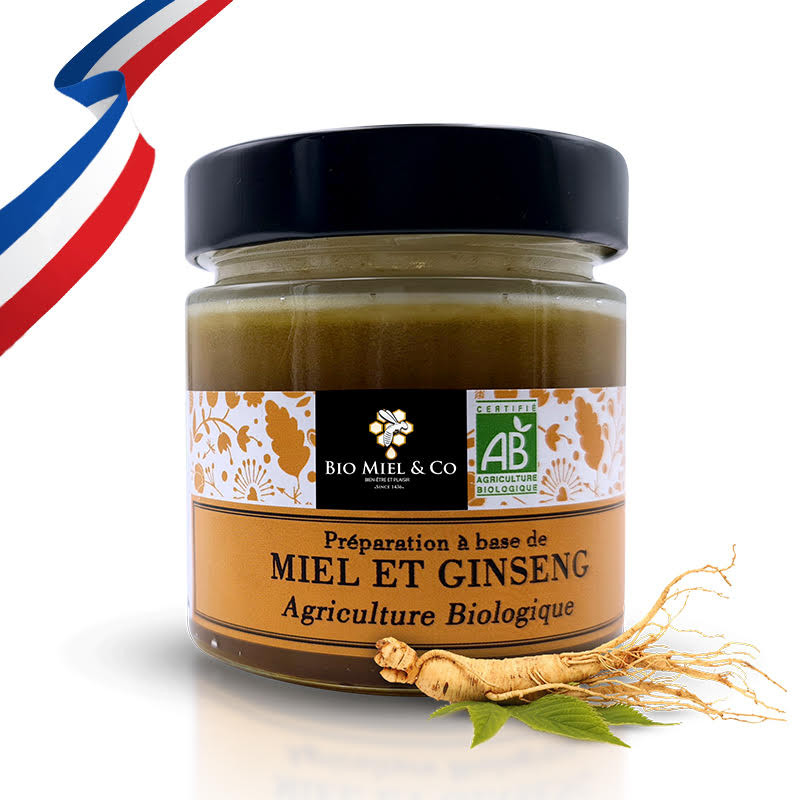 Miel et Ginseng (2.5%) BIO