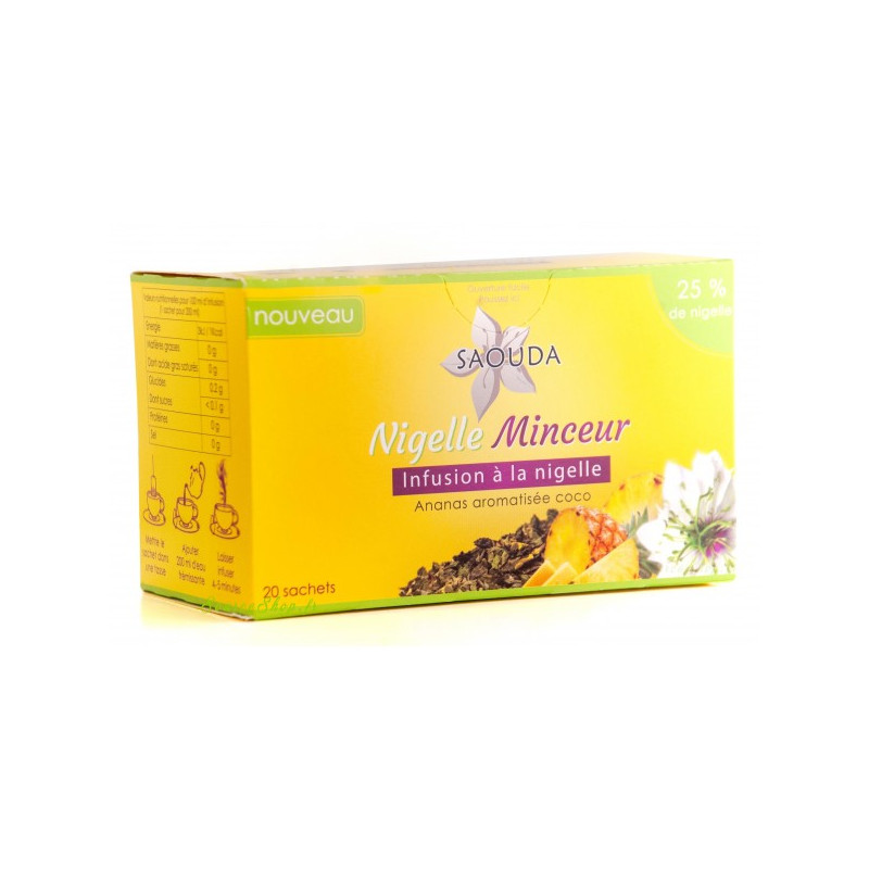 Infusion minceur nigelle...