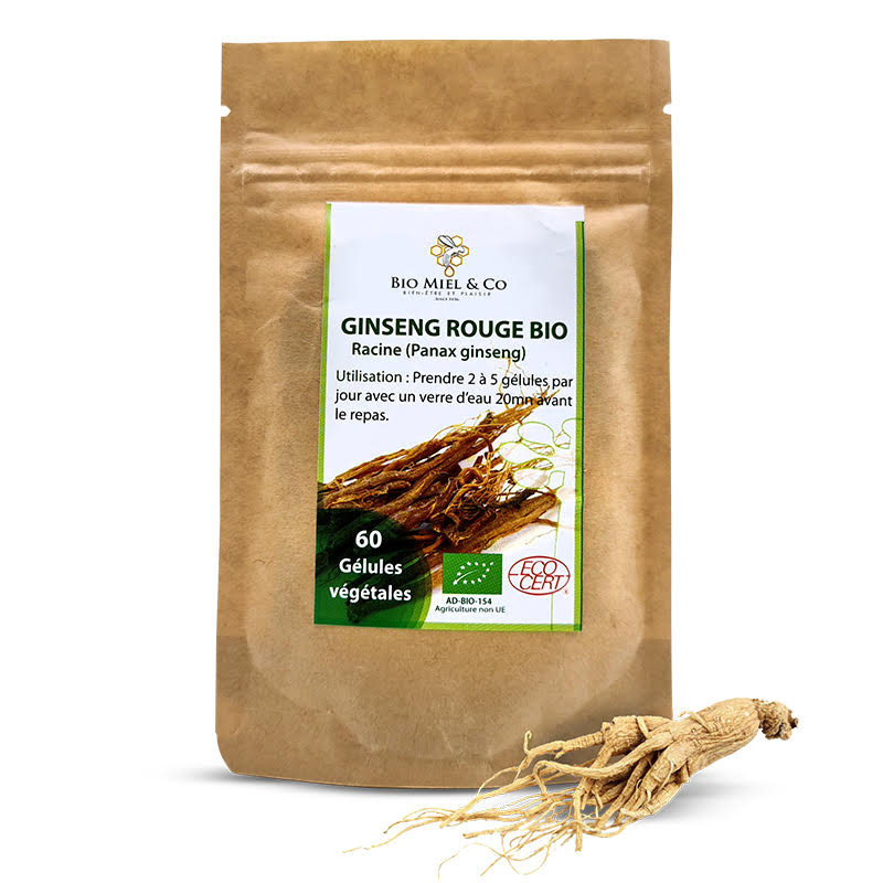 Organic Red Ginseng Capsules