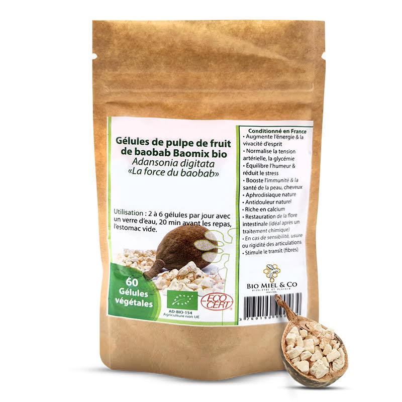 Organic Baobab capsules