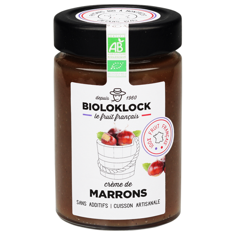 Crème de marrons Bio 230g