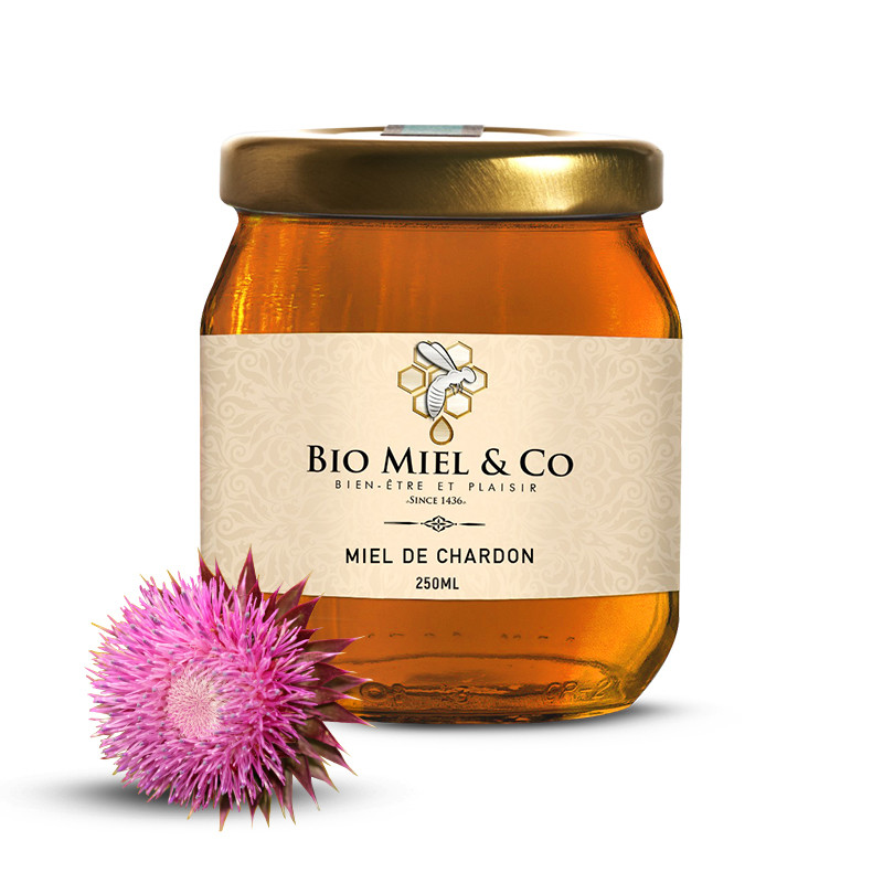 Miel de Chardon d'Espagne -...