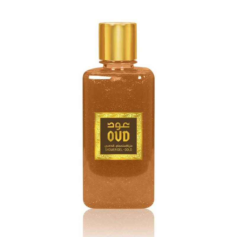 Gold & oud scented shower...