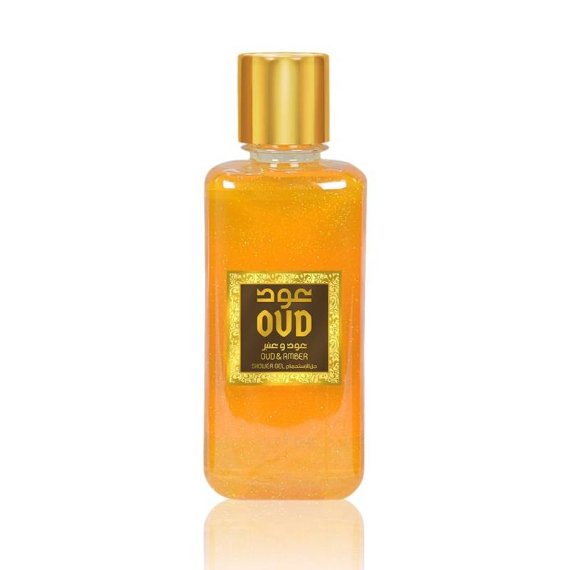 Oud & Amber scented shower...