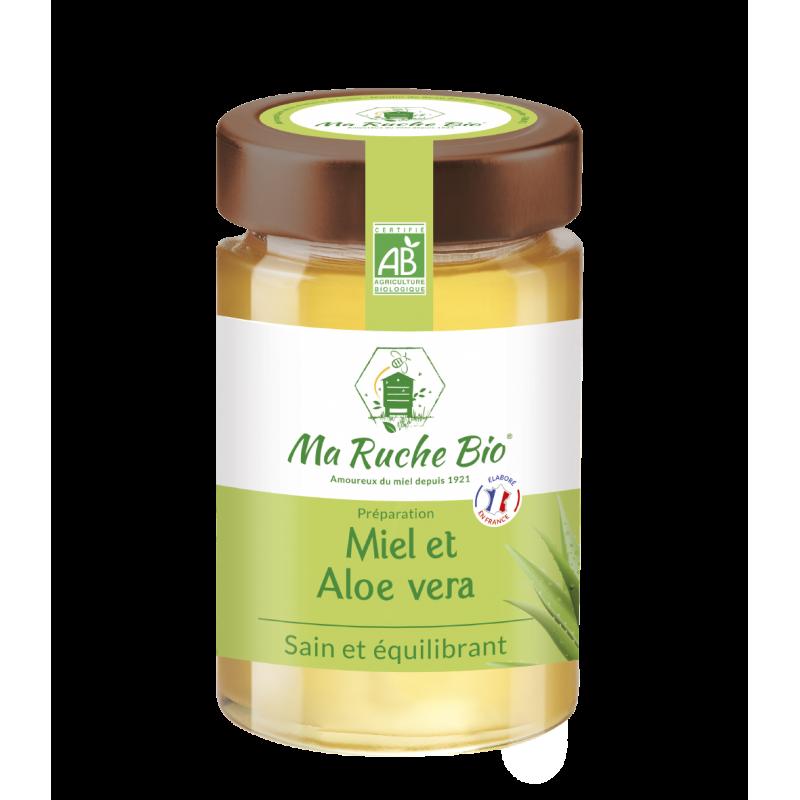 Miel et Aloe Vera BIO (sain...
