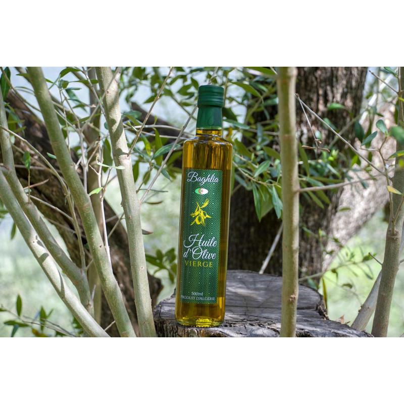 huile d'olive vierge d'algerie 500ml