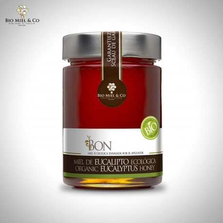 Organic Eucalyptus honey (Spain)