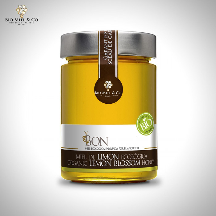 Organic Lemon Honey (Spain)