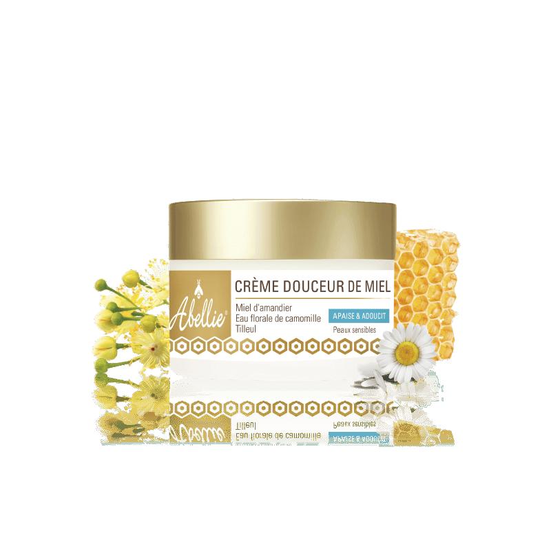 Organic honey sweetness...
