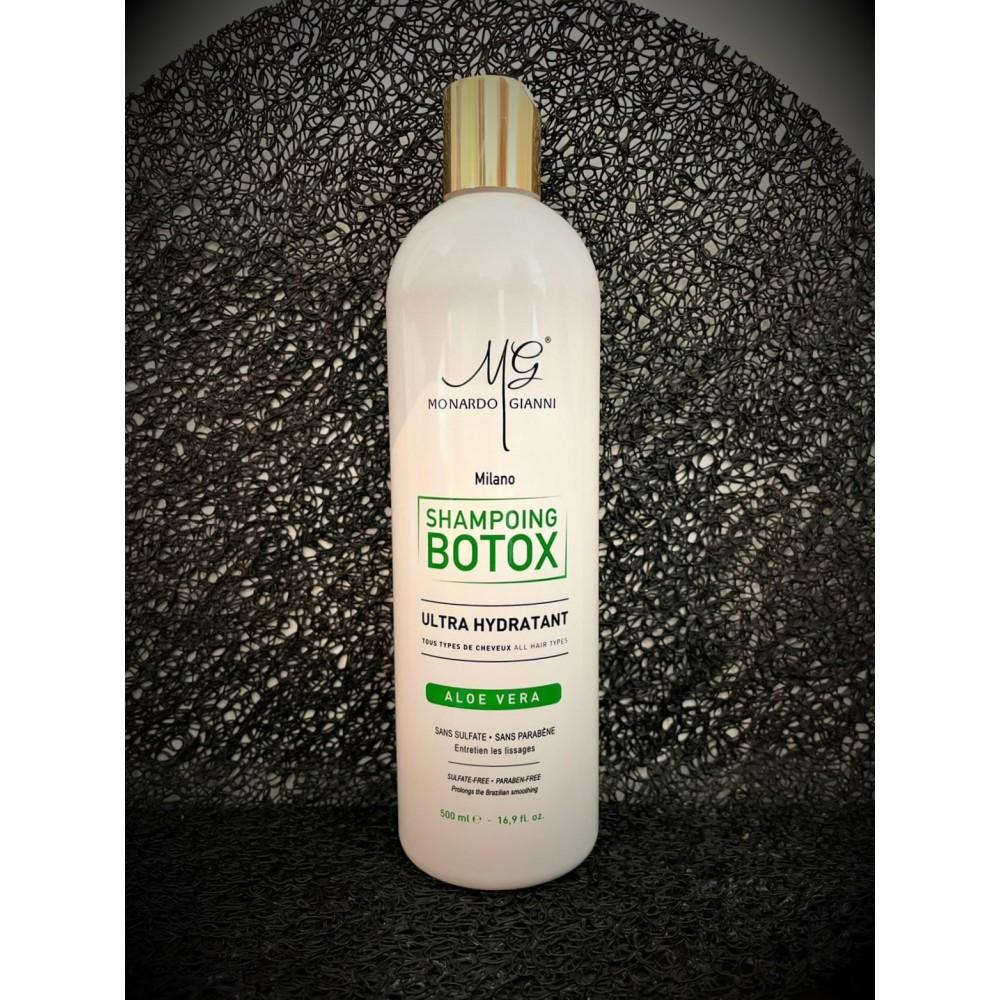 Shampoing botox à l'aloe...