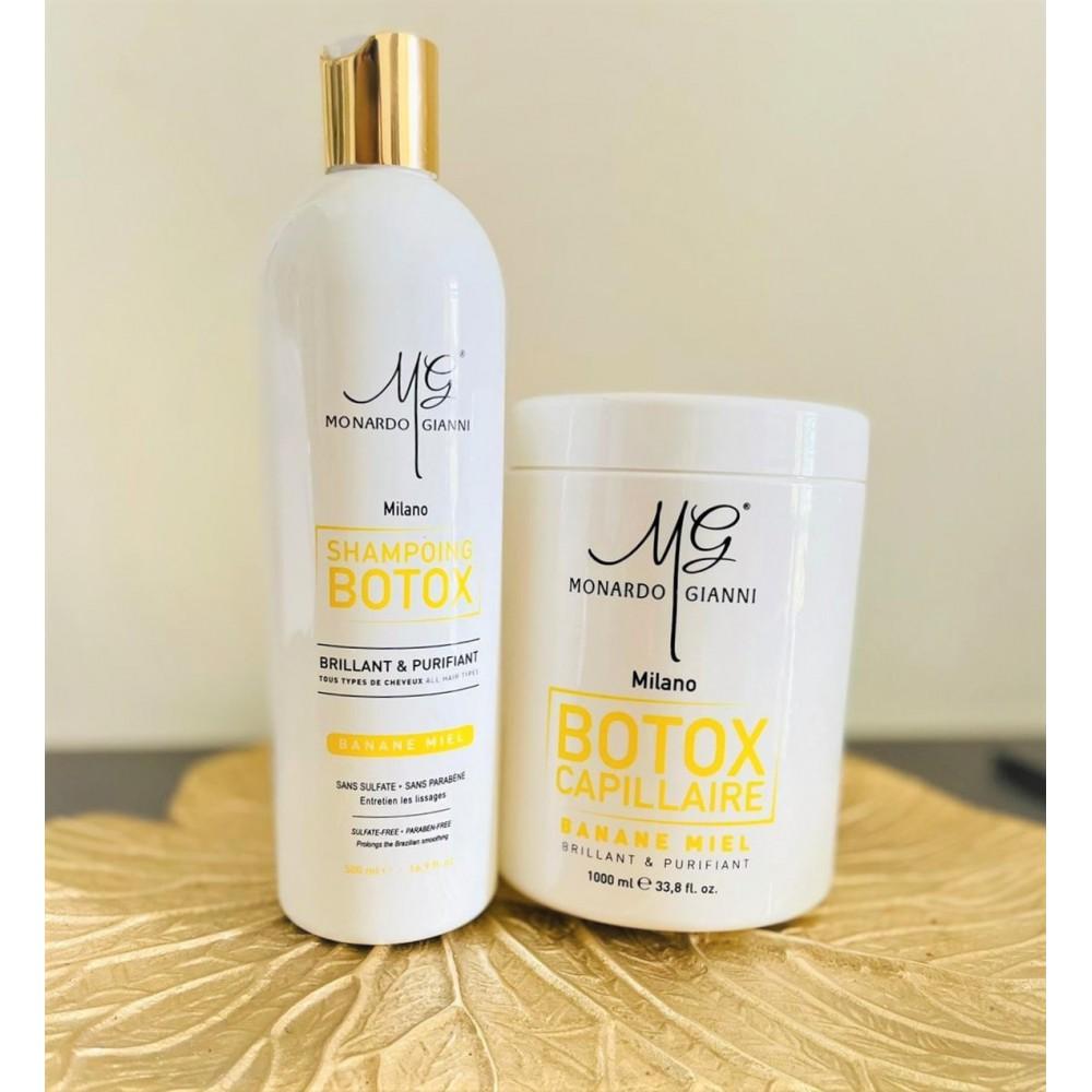 Pack botox + shampoing miel...