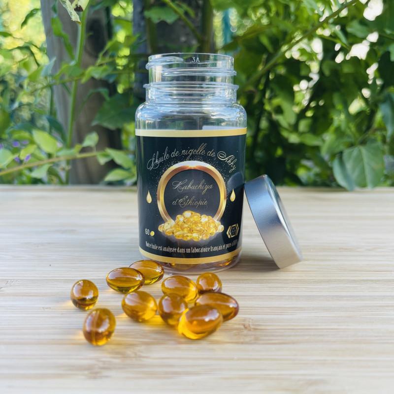 Capsules d'huile de nigelle...