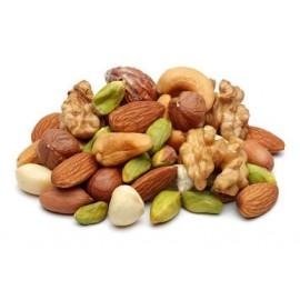 Mélange de fruits sec BIO (abricot-noix-amande-raisin-noisette-pomme-banane)