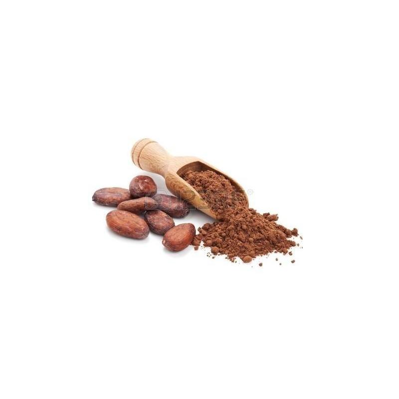 Pure organic fat-free cocoa...