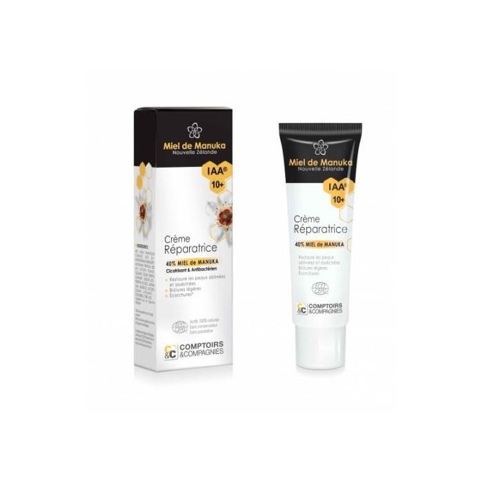 Crème réparatrice BIO miel de Manuka (40%) IAA10+