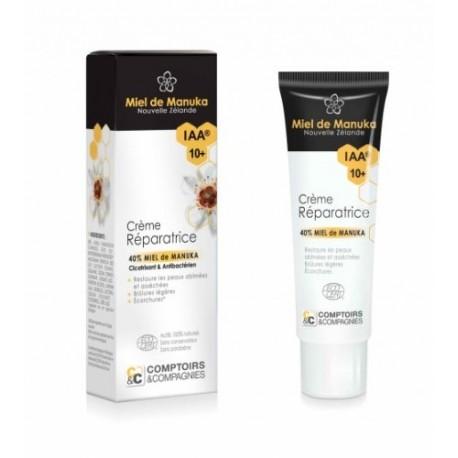 Organic healing cream Manuka honey (40%) IAA10 +