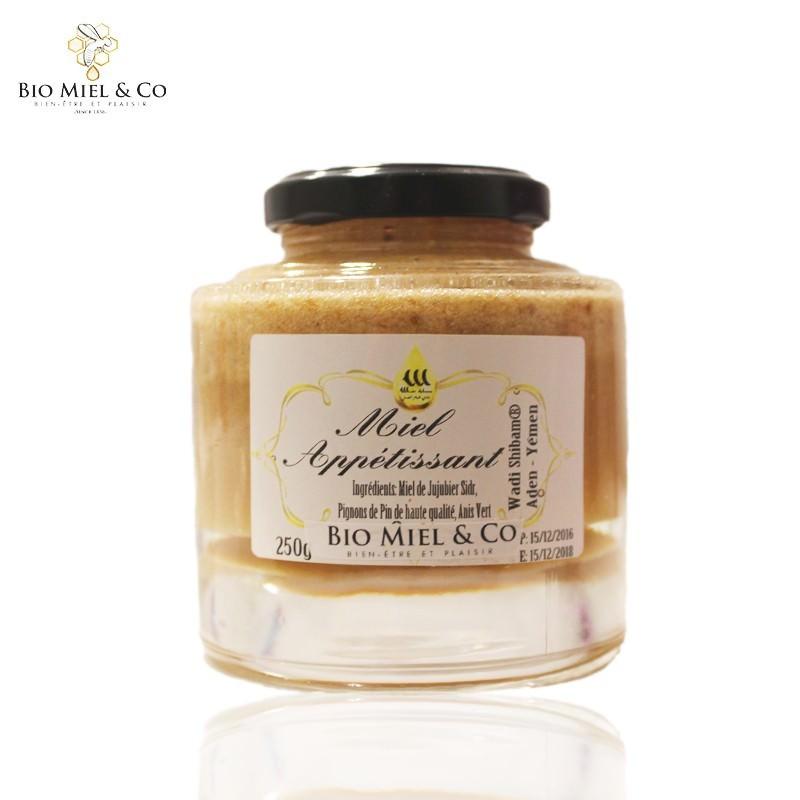 Miel appétissant (prise de poids)