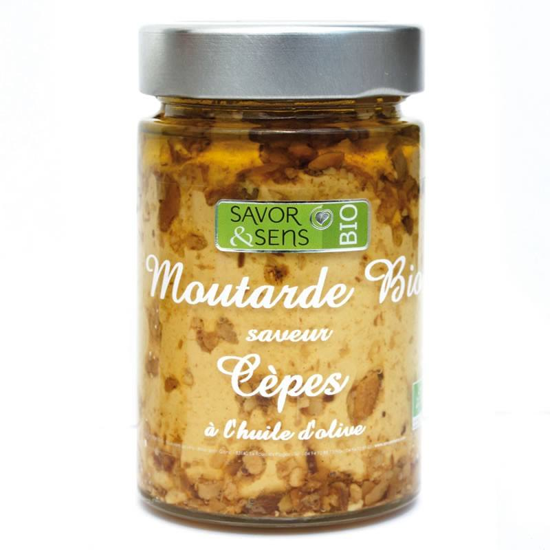 Moutarde saveur Cèpes BIO