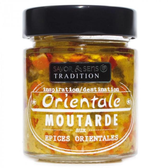 Moutarde aux 5 épices Orientale BIO