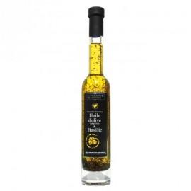 Huile d'olive BIO saveur Basilic