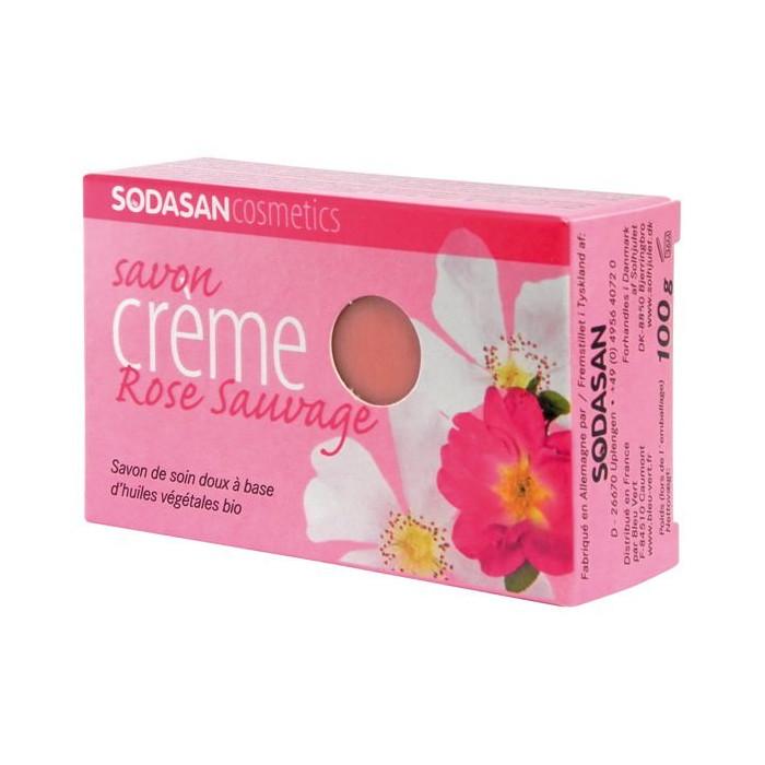 Organic soap (wild rose)