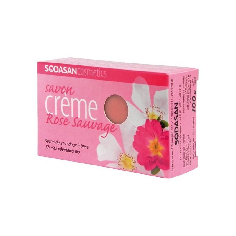 Jabón orgánico (rosa salvaje)