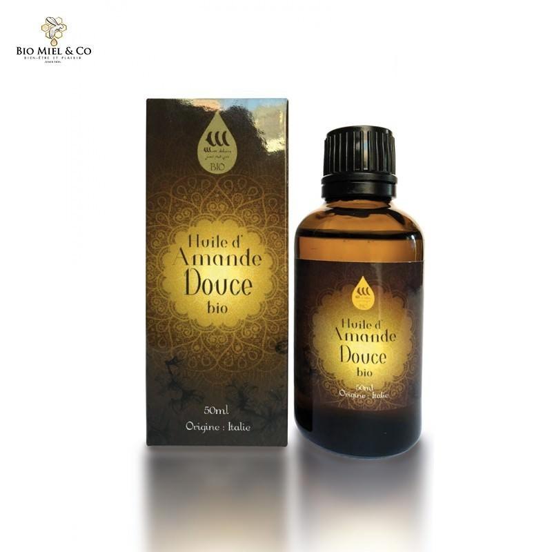 Organisches süßes Mandelöl