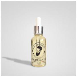 Aceite de barba orgánica sándalo