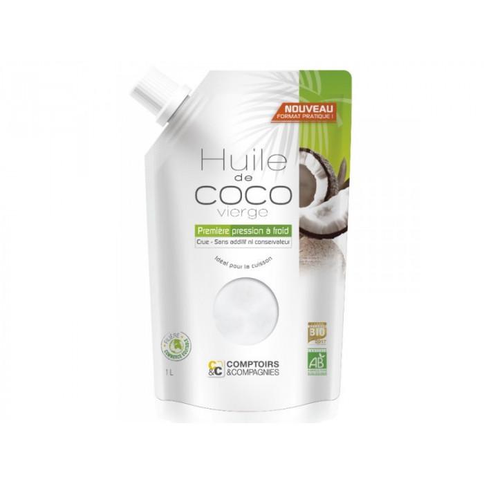Huile de coco vierge BIO issue du commerce équitable 250ml
