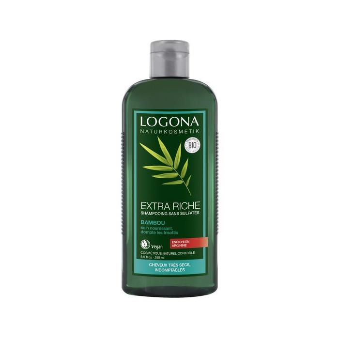 Extra-rich bamboo shampoo 250 ml
