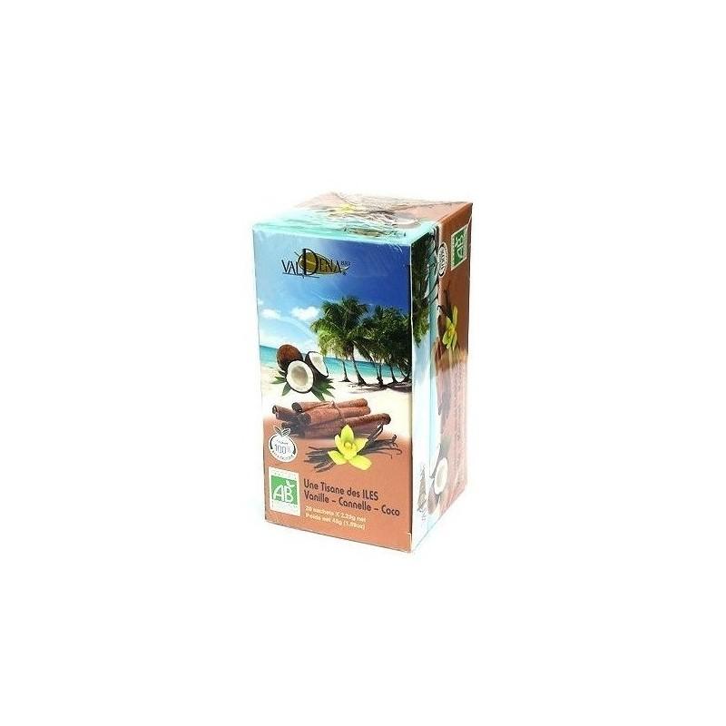 Organic Island herbal tea...